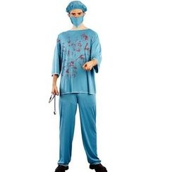 Gembeads - Bloody Surgeon Halloween Party Costume
