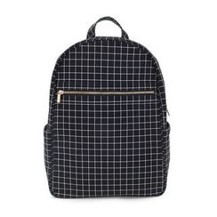 LIFE STORY - Check Canvas Backpack
