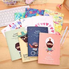Color Station - Set of 4: Printed Notebook (S)