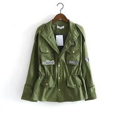 Ainvyi - Applique Parka