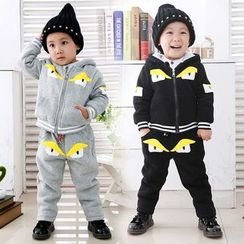 Pegasus - Kids Set : Monster Hooded Jacket + Sweatpants