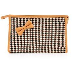 Vechel Bags - Houndstooth Cosmetic Bag