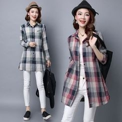 Yeeya - Plaid Long Shirt