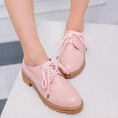 佳美 - 低跟牛津鞋