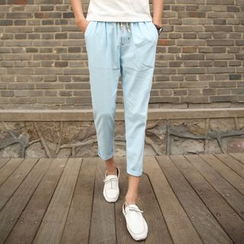 YamYork - Tapered Cropped Pants