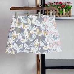 AIGIL - Floral Print Skirt