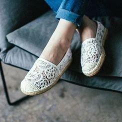 MIAOLV - 蕾丝轻便鞋