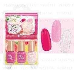LUCKY TRENDY - BW Nail  Cockail Vivid Soda Nail (Pink Shower)