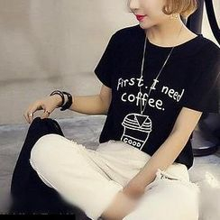 Fashion Street - Print T-Shirt