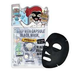 DEWYTREE - 3 Step Vita Capsule Black Mask 10pcs