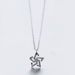 A'ROCH - 925 Sterling Silver Star Necklace