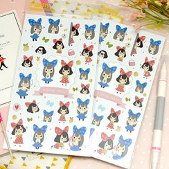 Full House - Latech - Girl Pattern Stickers