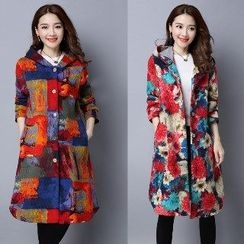 Splashmix - Printed Hooded Coat