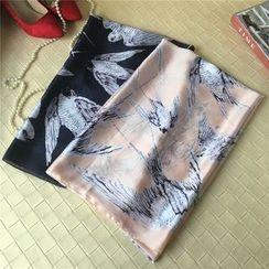 Aigu - 小鳥印花圍巾