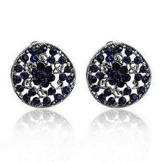 Linglady - Rhinestone Stud Earrings
