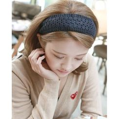 Miss21 Korea - Lace Wide Hair Band