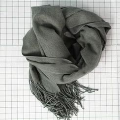 Ms Bean - Fringed Scarf