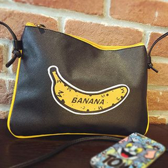 FROME - Banana Printed Shoulder Bag