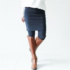 GLAM12 - Inset Skirt Leggings