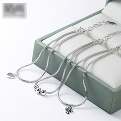 MOSHANG - 925 Sterling Silver Anklet