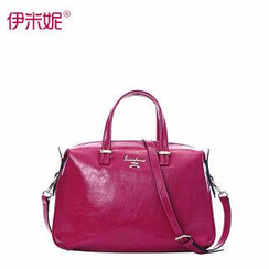 Emini House - Genuine-Leather Tote