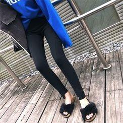 DOUX - Fleece-Lined Skinny Pants