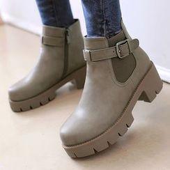 Gizmal Boots - 厚底短靴