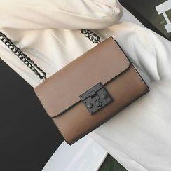 Youshine - Push Lock Shoulder Bag