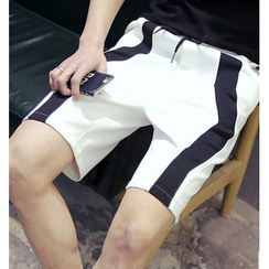 Fisen - Color Block Neoprene Shorts