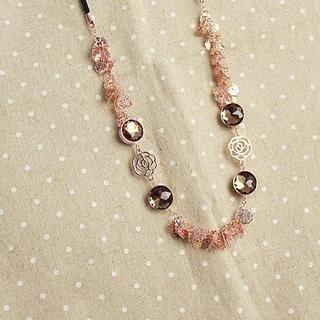 Love Generation - Gemstone Filigree Flower Necklace