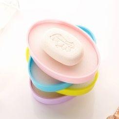 Home Simply - 帶海綿瀝水肥皂盒