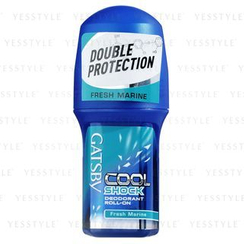 Mandom - Gatsby Cool Shock Deodorant Roll-On (Fresh Marine)