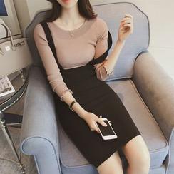Diado - 高腰吊带裙