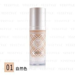 Miss Hana - Velvet Seamless Liquid Foundation SPF 50+ PA+++ (#01 Warm Beige)