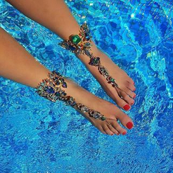 Ashita - Jeweled Anklet