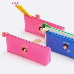 BABOSARANG - 'Du-dum' Series Pom-pom Pencil Case