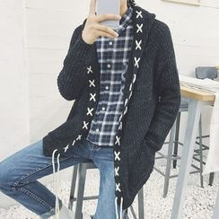 Arthur Look - Drawstring Cardigan
