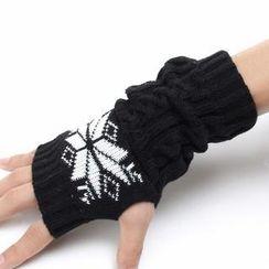 Nirvana Nation - Nordic Knit Gloves