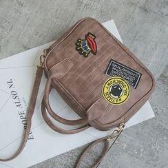 Secret Garden - Applique Shoulder Bag