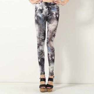 YesStyle Z - Galaxy Print Leggings