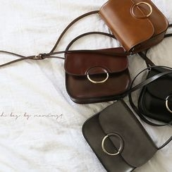 NANING9 - Faux-Leather Shoulder Bag