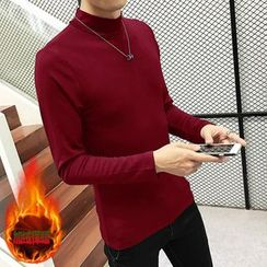 JORZ - Mock Neck Long-Sleeve T-Shirt