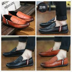 Easy Steps - Faux Leather Loafers