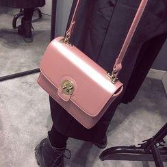 Secret Garden - Faux Leather Shoulder Bag