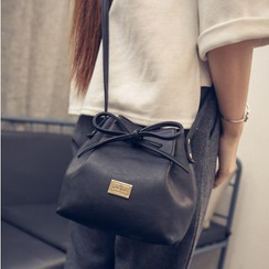 Rosanna Bags - Faux-Leather Bucket Bag