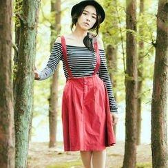 CatWorld - Suspender Skirt