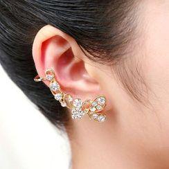 HEDGY - Rhinestone Ear Cuff