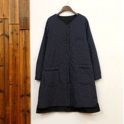 tete - Dotted Button Coat