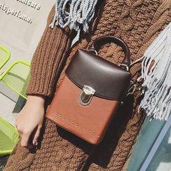 Youshine - Studded Boxy Crossbody Bag