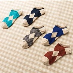 LA SHOP - Argyle Ankle Socks